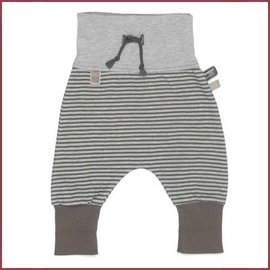 Snooze Baby baggy pants stripe storm grey