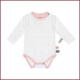 Snooze Baby Romper LS dots light pink