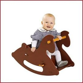 Moover Toys Moover Toys Hobbelpaard Rood