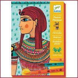 Djeco Kunst met een nummer, Egyptische kunst