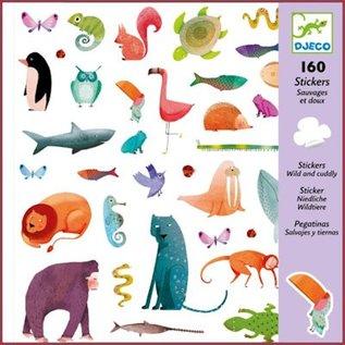 Djeco Stickers Wild en Lief