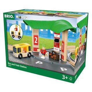 Brio Bus en Trein Station