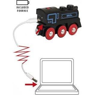 Brio Rechargeable Engine met mini usb kabel