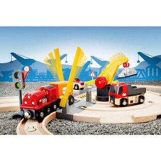 Brio Rail en Weg Kraan Set