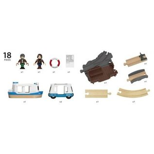 Brio Travel Ferry Set