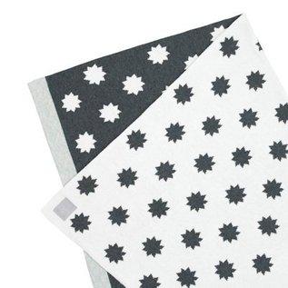 Lässig Gebreide ledikantdeken/blanket Little Chums Stars white