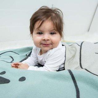 Lässig Gebreide babydeken/blanket Little Chums Cat