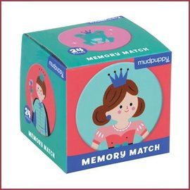 Mudpuppy Mini memory spel, Prinses