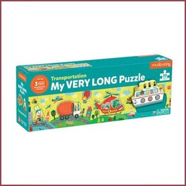 Mudpuppy Lange puzzel, vervoer