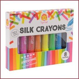 Tiger Tribe Silk Crayons 8 stuks