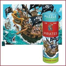 Crocodile Creek Puzzel, Piraten 200st