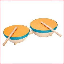 Plantoys Dubbele Drum