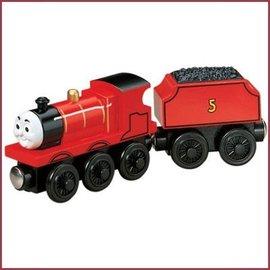 Thomas de Trein Houten trein James met batterij