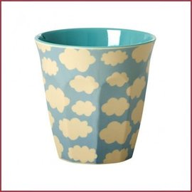 Rice Rice Cup Two Tone Cloud Print