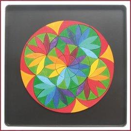 Grimm's Magneetpuzzel Cirkel Bloem