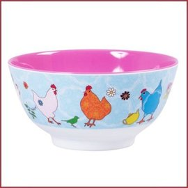 Rice Rice Bowl Two Tone  Medium - Hen print