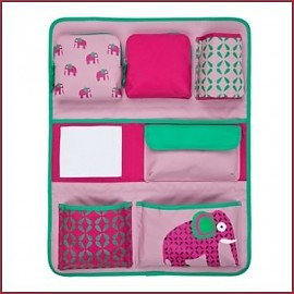 Lässig Auto-organizer Wrap-to-Go Wildlife - Elephant