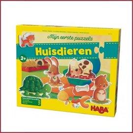 Haba Mijn eerste puzzel - Huisdieren