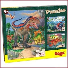 Haba Puzzel Dinosaurussen
