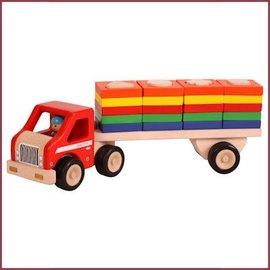 Santoys Vrachtauto met geometrische vormplaten