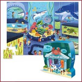 Crocodile Creek Shaped puzzel Aquarium 48