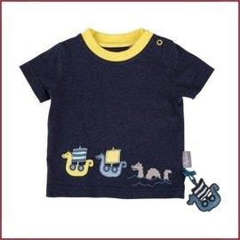 Sigikid T-Shirt blauw melange