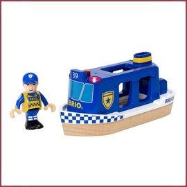Brio Politie Boot licht en geluid