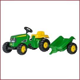 Rolly Toys Kid John Deere met trailer