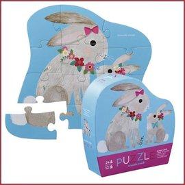 Crocodile Creek Mini Puzzel Bunny Love, 12st