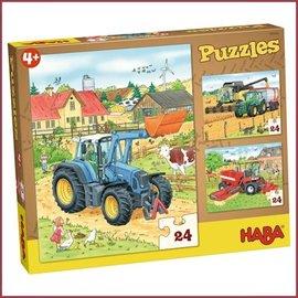 Haba Puzzel Tractor
