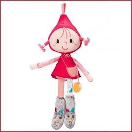 Lilliputiens Minipopje stof Roodkapje