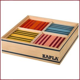 Kapla Kapla Kist100 Plankjes 8 kleurig
