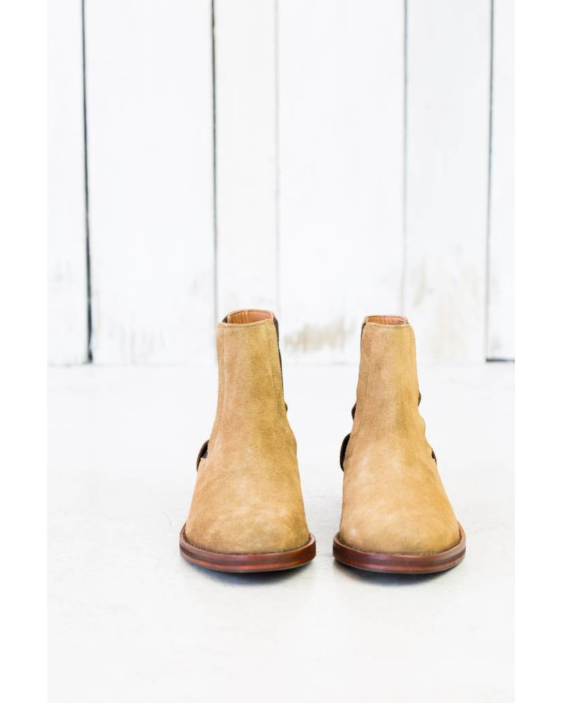 RODNEY SUEDE CHELSEA BOOTS