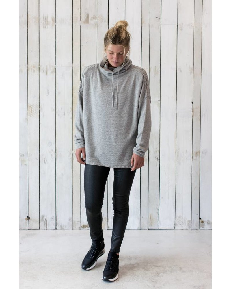 KAY FUNNEL NECK JUMPER