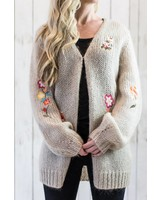 MAY EMBROIDERED CARDIGAN