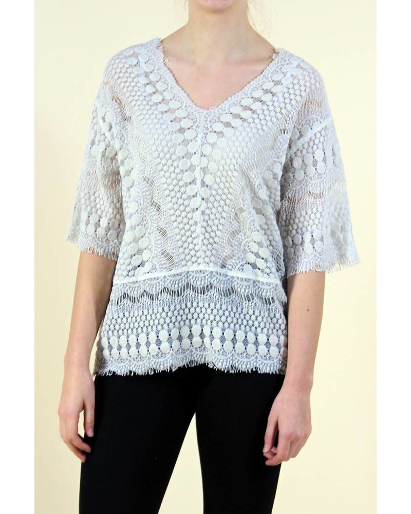 CORINNE LACE TOP