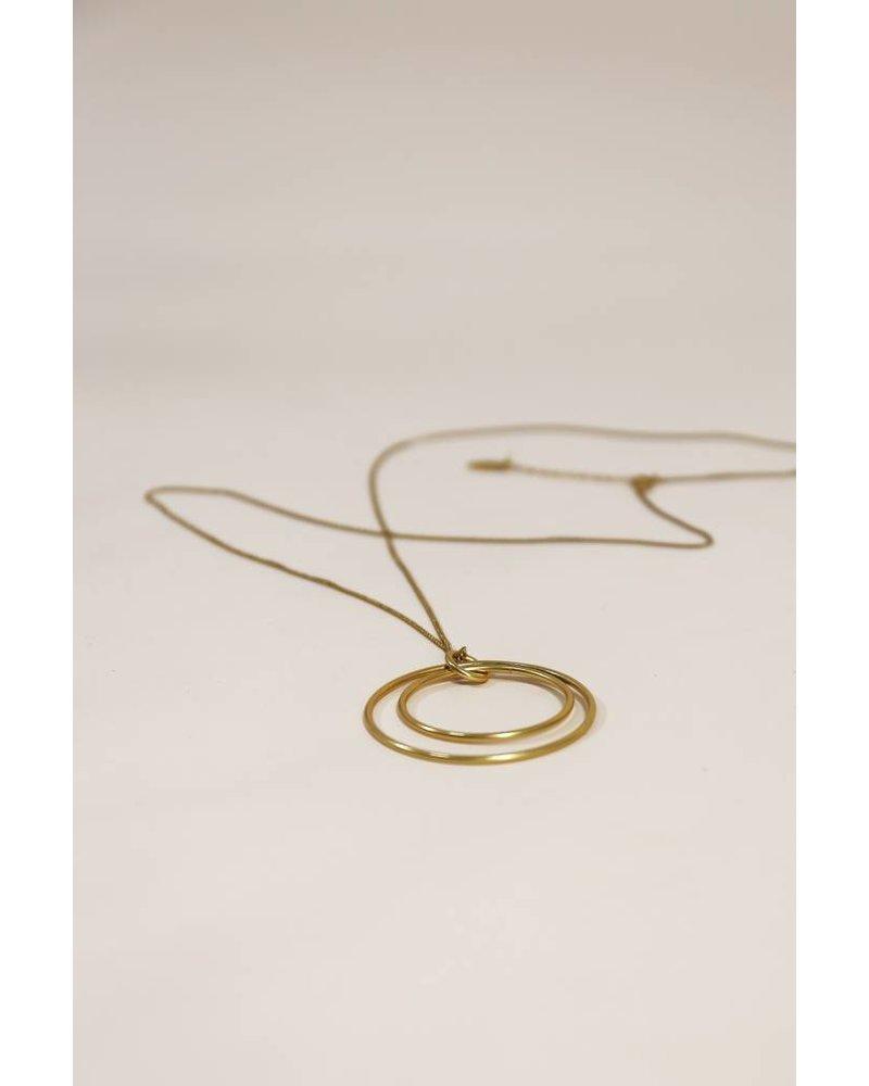 CLOTHILDE GOLD NECKLACE