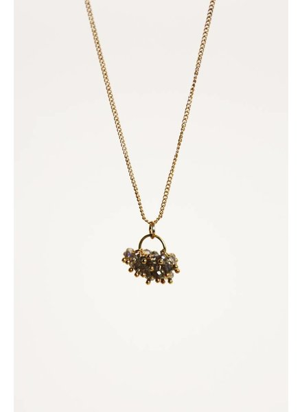 EVETTE GOLD NECKLACE