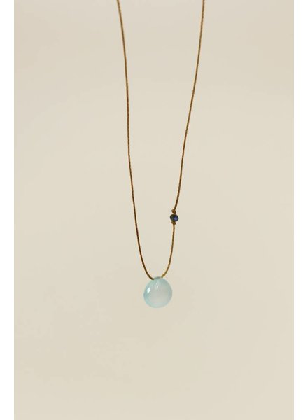 MINTY CORD NECKLACE