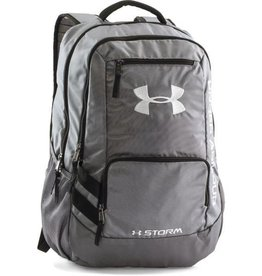UNDERARMOUR UA Hustle Backpack II-GPH/GPH/SLV OSFA