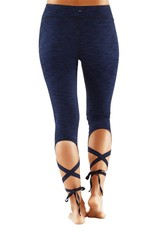 MANDUKA Flux Legging - blue