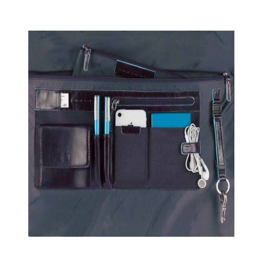 Piquadro Blue Square Organized