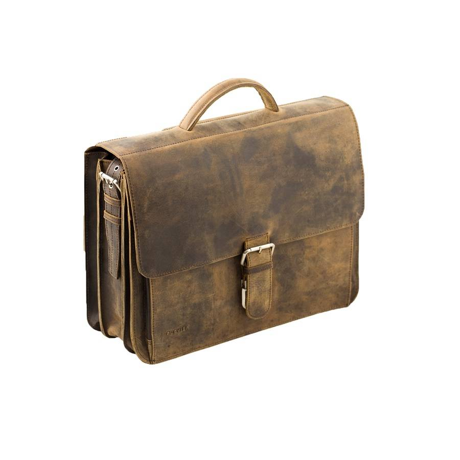 "Plevier laptoptas vintage 3-vaks 15,6""  553"