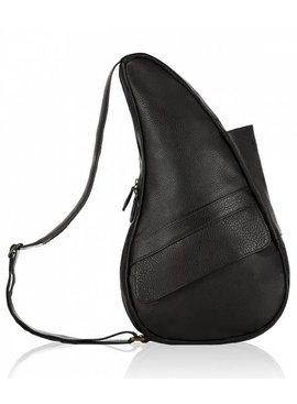 Healthy Back Bag Leather Medium Black