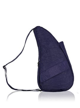 Healthy Back Bag Textured Nylon Small Blue Night