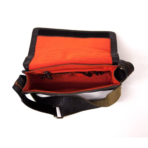 Orange Fire Laptoptas Middle flap Low OF0167