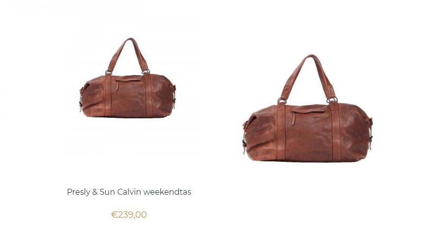 Presly & Sun Calvin weekendtas