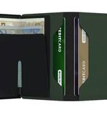Secrid slimwallet matte Green  Black