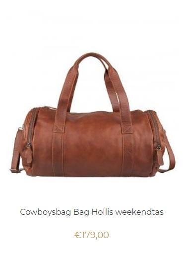 Cowboysbag weekendtas