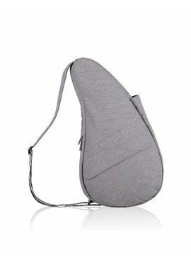 Healthy Back Bag Textured Nylon Medium Pebble Grey 6304